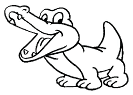 Images Of Baby Crocodile Coloring Sheet Ideas