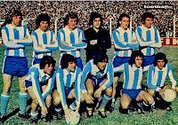 SELECCIÓN DE ARGENTINA - Temporada 1972-73 - Troncoso, Bargas, Wolff, Carnevali, Rubén Pernía y Telch; Houseman, Brindisi, Avallay, Norberto Alonso y Guerini - ARGENTINA 3 (N. Alonso, Brindisi y Houseman) OLIMPIA 73 0 - 09/07/1973 - Partido de entrenamiento - Buenos Aires, Argentina, estadio José Amalfitani - Olimpia 73 era un combinado formado por jugadores argentinos en el exterior