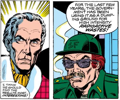 Iron Man #120, Peter Cushing and Stan Lee?