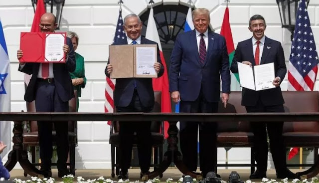 ترامب من البيت الأبيض : 6 دول عربية ستنضم لتطبيع العلاقات مع إسرائيل بينها السعودية