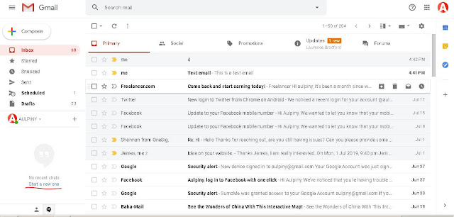 Use Hangout In Gmail - Gmail Tricks