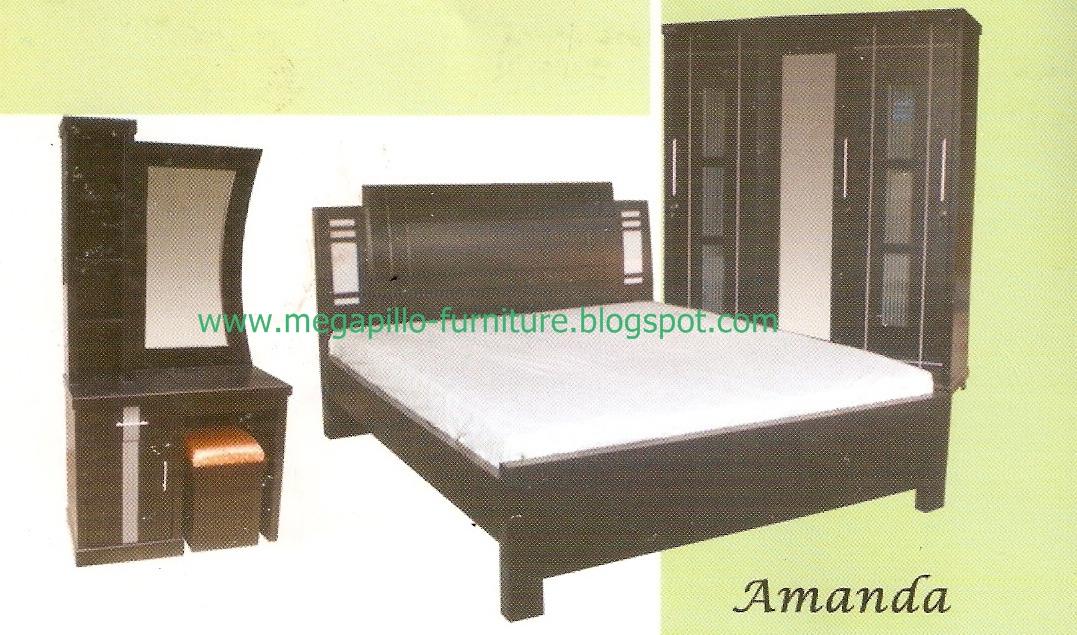 Megapillo furniture spring bed online shop kamar set - Bedroom furniture set online shopping ...