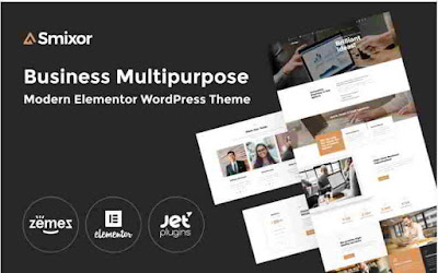 Smixor Business Wordpress Theme