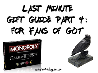 Last Minute Gift Guide Part 4: for Fans of Game of Thrones