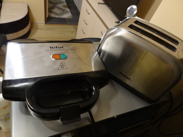 Tefal Ultracompact sandwich maker, toaster