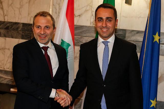 روما، وزير الخارجية الإيطالية يلتقي نظيره اللبناني وناقشا مواضيع مختلفة، بينها استقرار لبنان