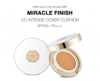 phấn nước the face shop miracle finish