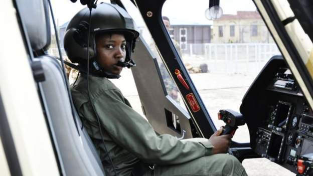 Nigeria's first female combat helicopter pilot dies