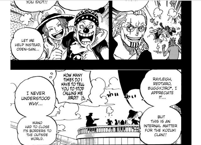Review One Piece 958 - release chapter 959