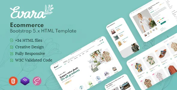 Best Bootstrap 5 Ecommerce Frontend & Dashboard Template