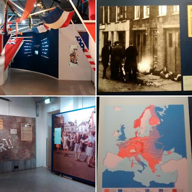 Museu da Resistência holandesa contra o Nazismo alemão - Segunda Guerra Mundial - Amsterdã - Holanda