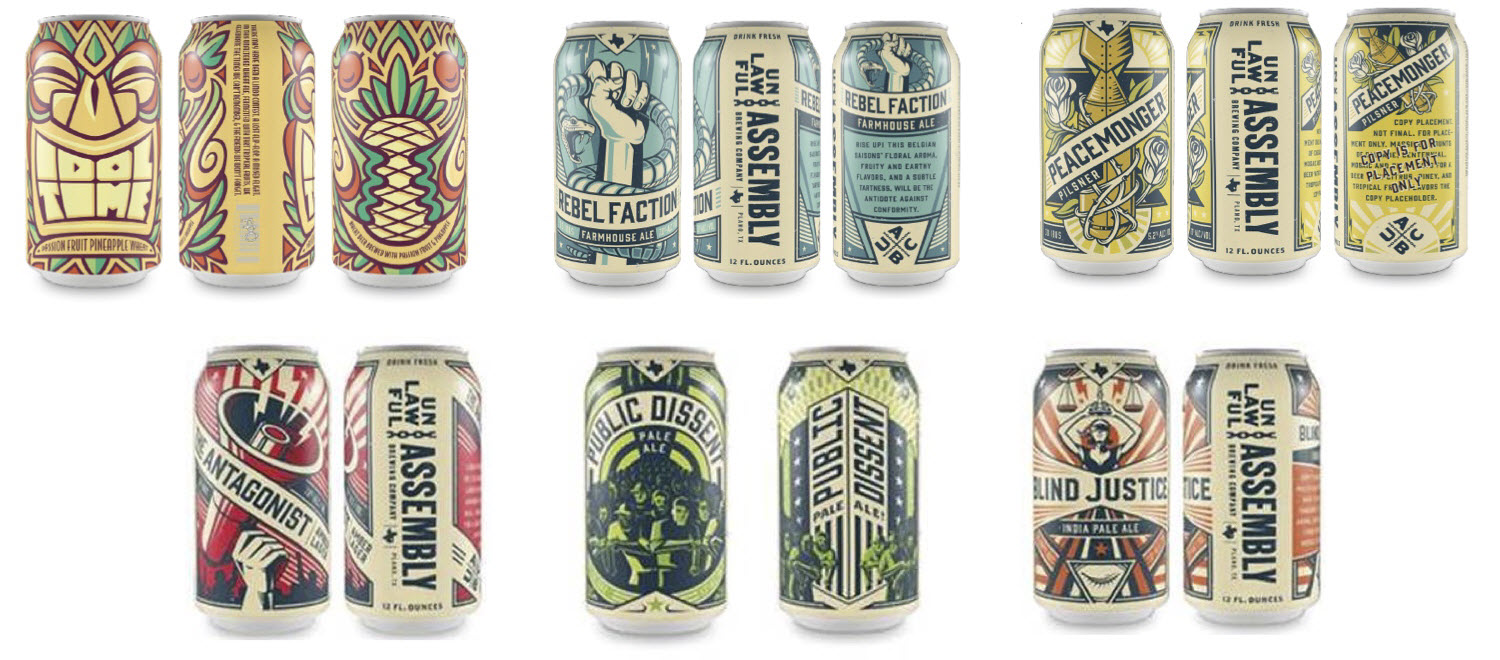 Unlawful Assembly unveils its initial offerings | Beer in Big D