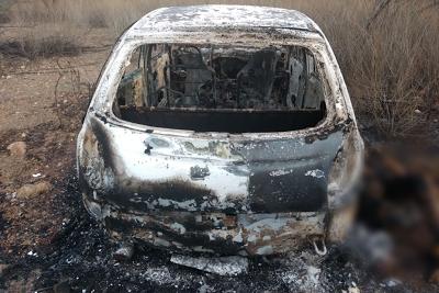 TRAGÉDIA: Pai e filho são mortos e veículo é incendiado em Catunda