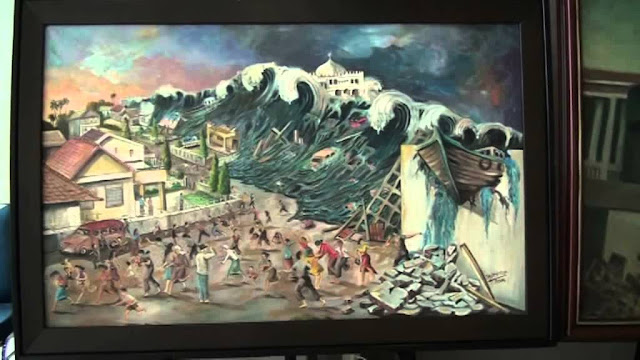 Lukisan Tsunami Aceh