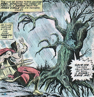 The Son of Satan #1, evil tree