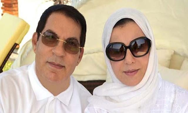 ليلى بن علي تطالب الدولة التونسية بجراية تقاعد