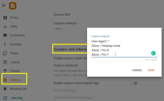 How to Create the best SEO robots.txt for Blogger blog?
