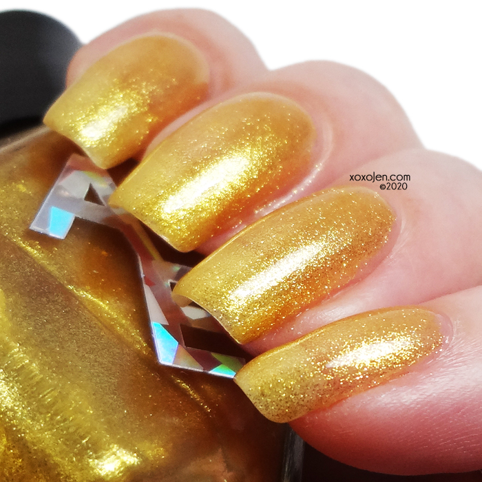 ox'Alter Ego的色板:Nov COTM Golden Topaz
