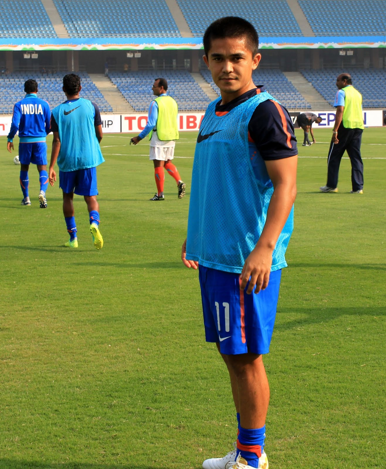Sunil Chhetri Is 'AIFF Player Of The Year 2011