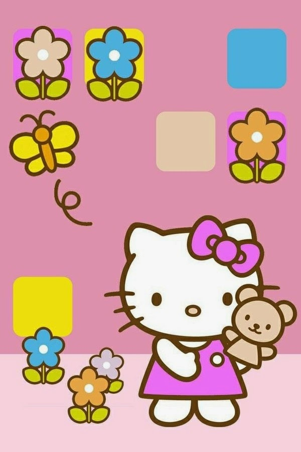 Fondos iphone hello kitty
