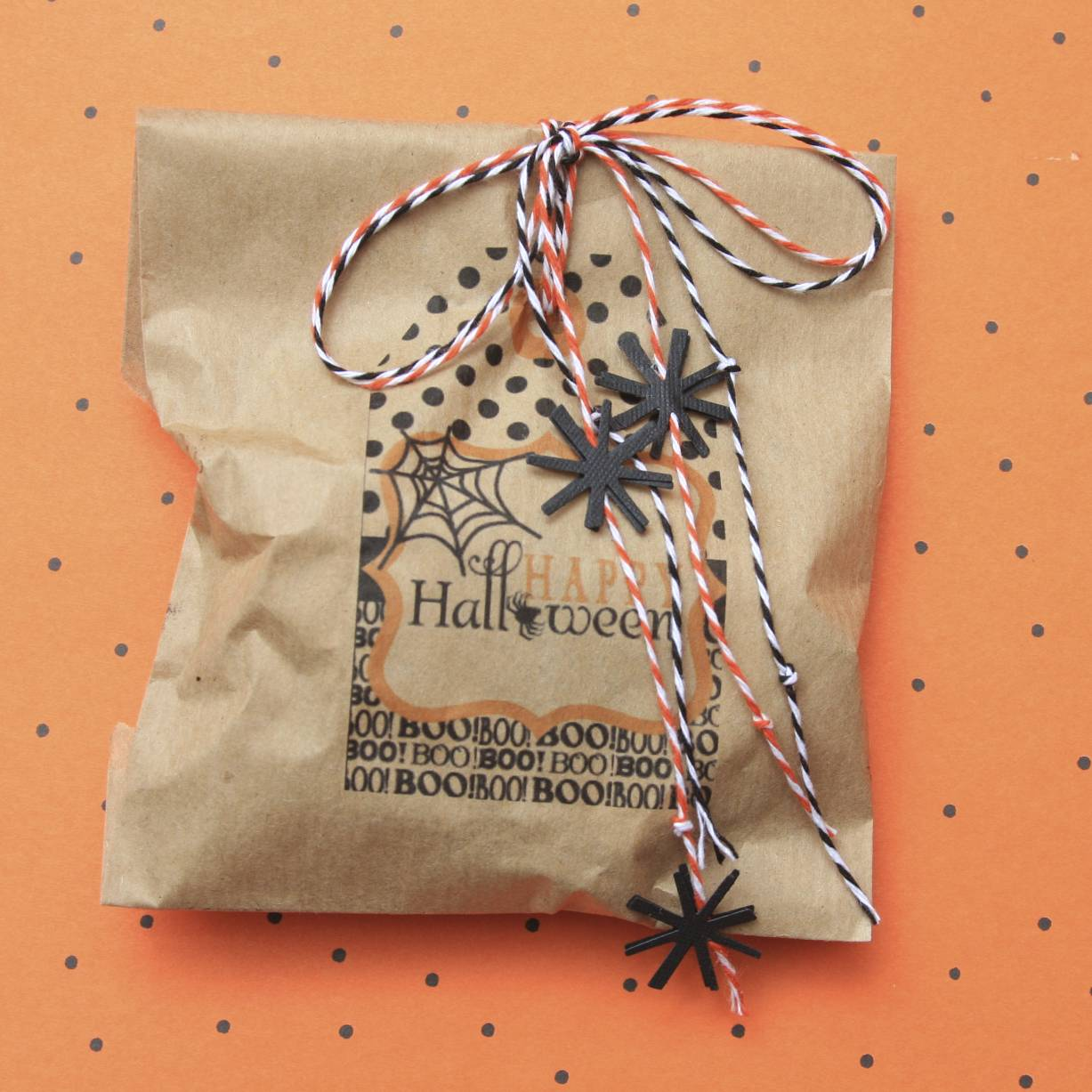 Halloween Treat Bag | iloveitallwithmonikawright.com