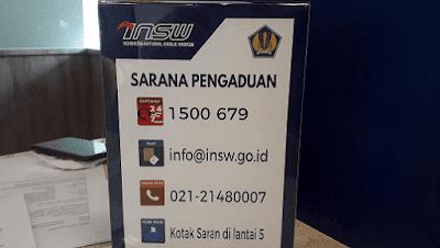 Gamar Kantor INSW di Jalan Pramuka Jakarta Indonesia
