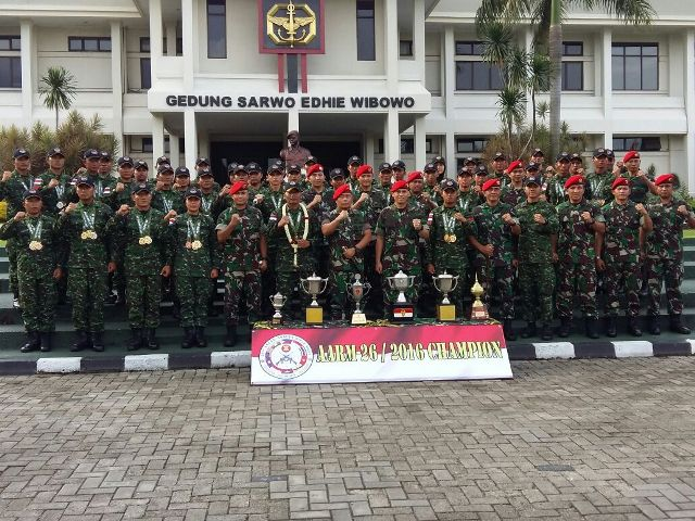 Para Prajurit Tim AARM Pembawa Harum Bangsa itu Telah Tiba di Jakarta