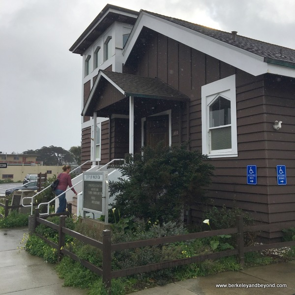 Little Brown Church in Pacifica, California