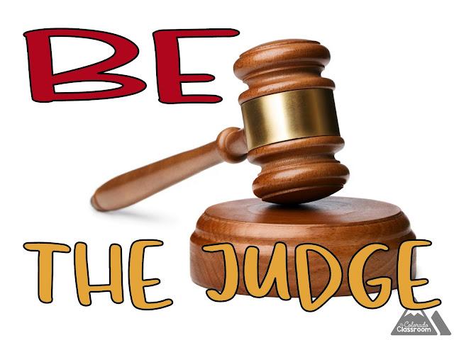 Be the judge, like Hammurabi