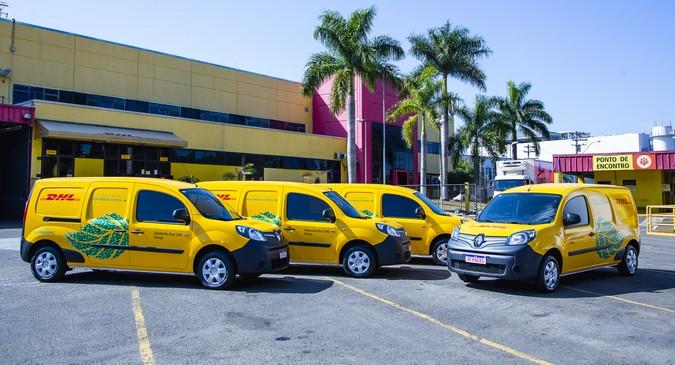 DHL Supply Chain amplia frota de veículos elétricos para distribuição com Renault Kangoo Z.E.