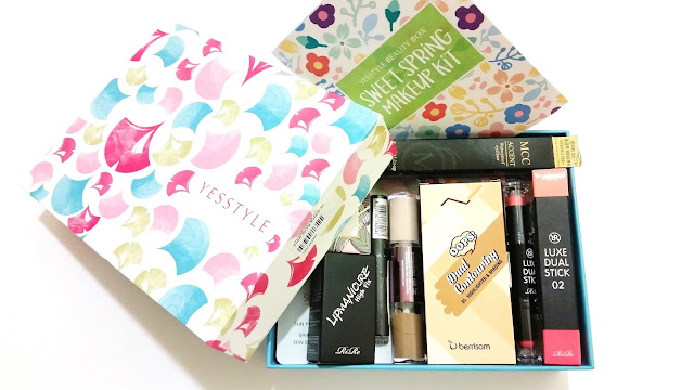 Sweet Spring Makeup Kit Unboxing