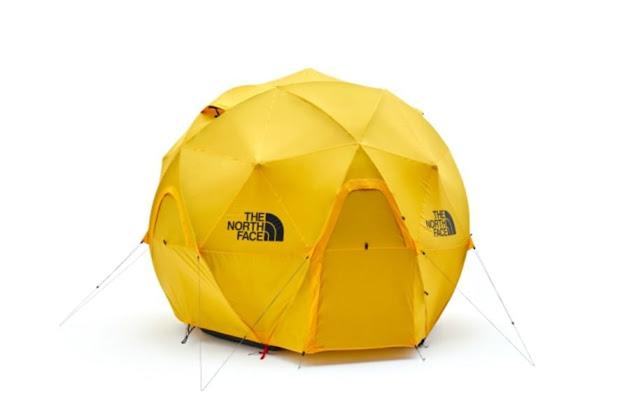 Tenda Geodesi merk The North Face cocok untuk ekspedisi