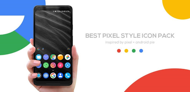 Pixel Pie Icon Pack APK 2.3 [Paid] Download for Android