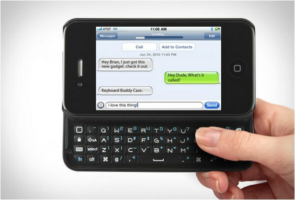 cool keyboards for iphone cool iphone 4 keyboard buddy with backlit bonjourlife 13881