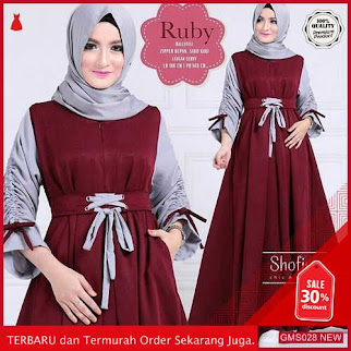 GMS028 SDropship SKNR028R182 Ruby Dress Muslim Friendly Dropship SK0397735737