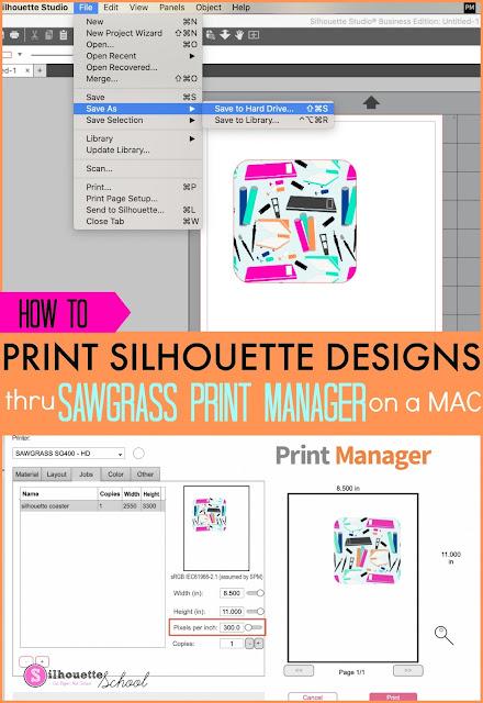 silhouette 101, silhouette america blog, sublimation, sawgrass, silhouette studio