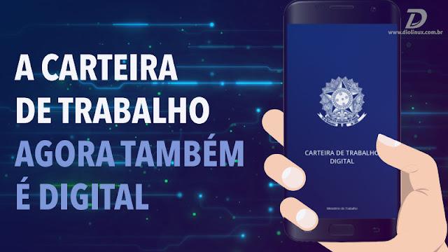 Carteira de Trabalho brasileira, enfim entra no Século 21