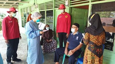 BIN Semarakkan Gerakan Vaksinasi Massal di Riau