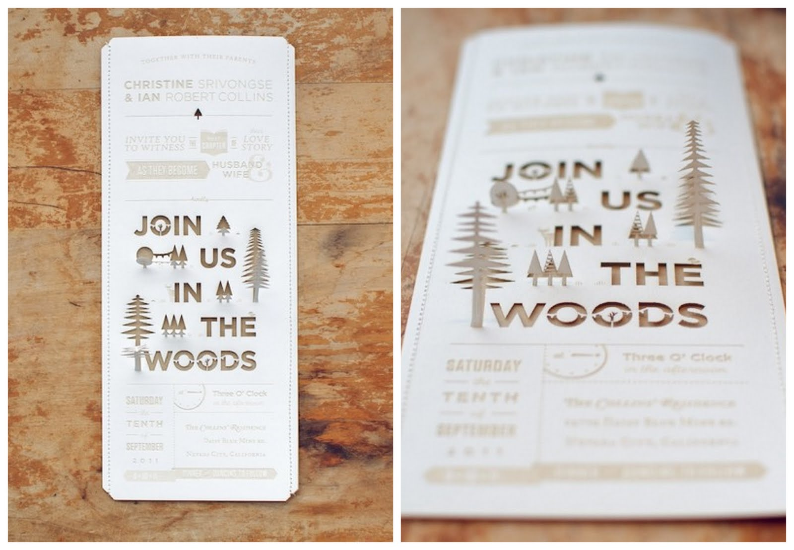 Wedding Invitation Picture Ideas: Creative Wedding Invitation Inspiration