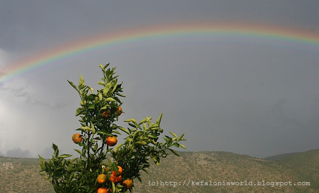 Rainbow over Kefalonia