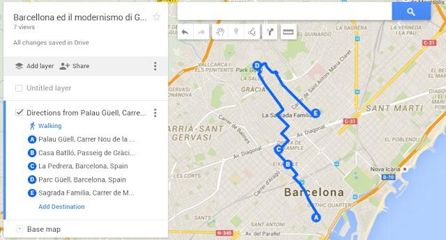 Barcellona itinerario tra il modernismo di Gaudì