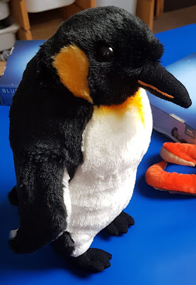 Posh Paws BBC Earth Soft Toys Review Emperor Penguin from Blue Planet