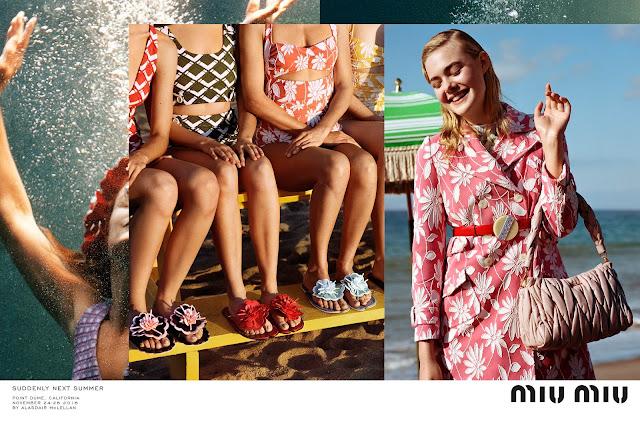 "Miu Miu's Spring/Summer 17 FULL Ad Campaign, ""Suddenly Next Summer"""