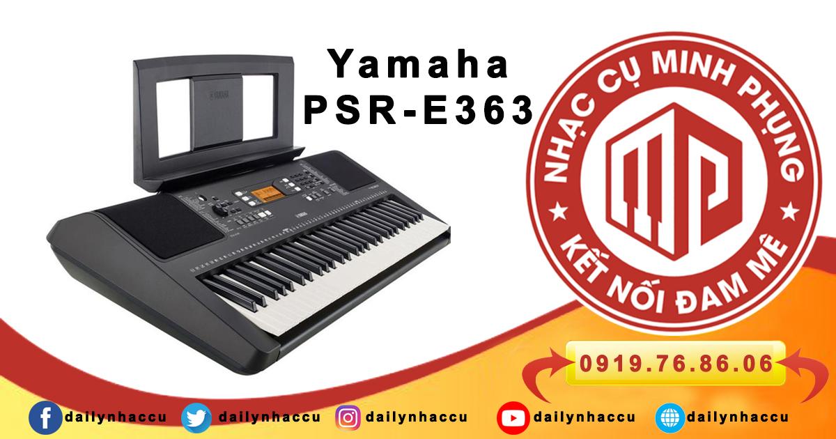 Đàn Organ Yamaha PSR E363