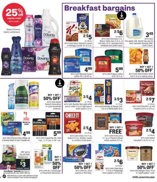 CVS Weekly Ad Preview 3-22-3-28