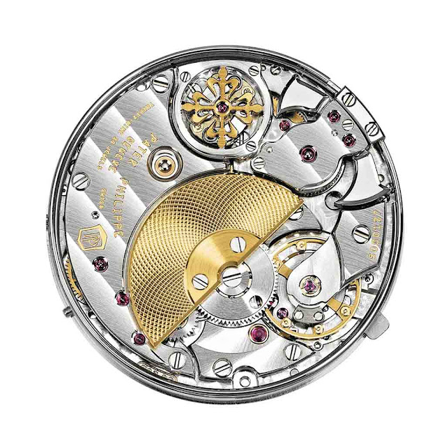 The calibre R 27 PS of the Patek Philippe 5078G Minute Repeater