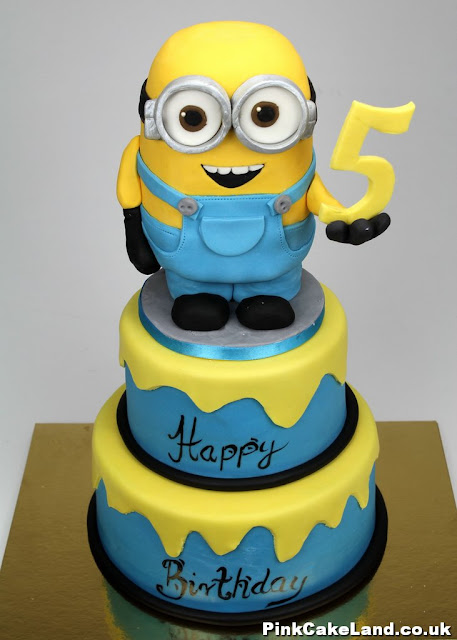 Despicable Me themed party cakes in London