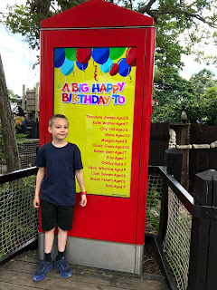 Blake Clement 10th Birthday Legoland birthday board