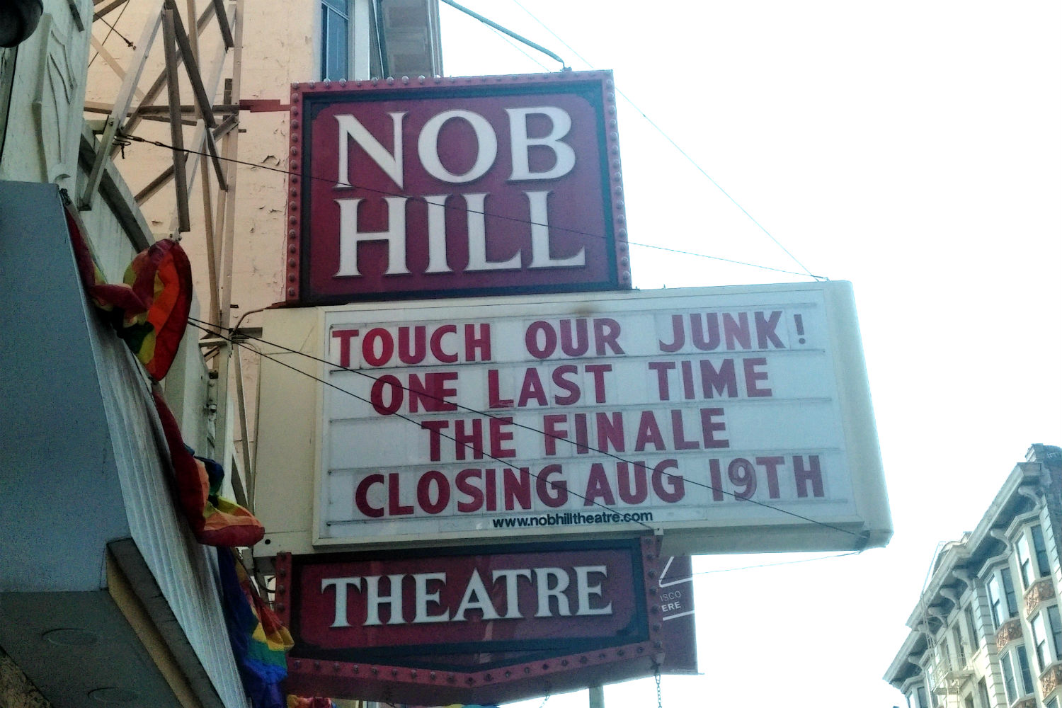 Opinion you nob hill adult theater