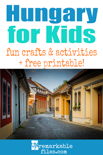 Learning about Hungary is fun and hands-on with these free crafts, ideas, and activities for kids! You can even use these resources to teach them a little bit of the Hungarian language. #hungary #hungarian #educational